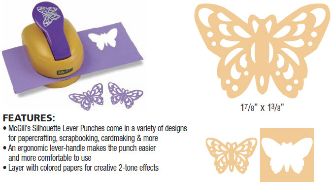 butterfly paper punch Shop for martha stewart punch all over the page 'classic butterfly' punch free shipping on orders over $45 at overstockcom - your online scrapbooking shop get.